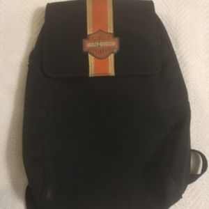 Harley Davidson small backpack pocketbook. Used